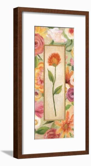 Sweet Romance Panel I-Daphne Brissonnet-Framed Art Print