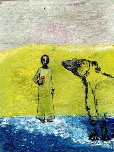 Sweet Rose and Brown Bear, 2005-Gigi Sudbury-Giclee Print