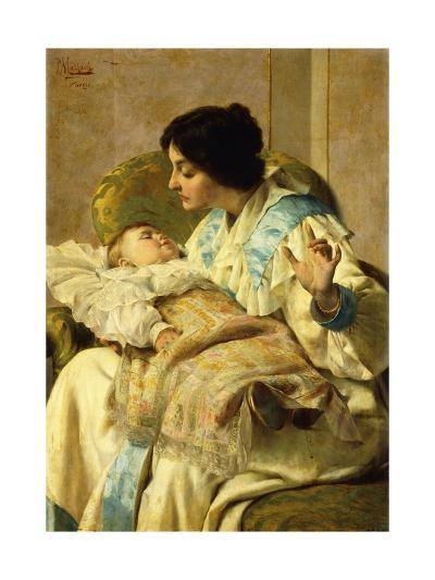 Sweet Slumber-Pompeo Massani-Giclee Print
