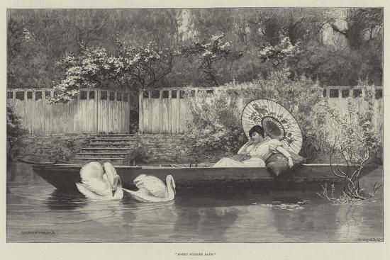 Sweet Summer Days--Giclee Print