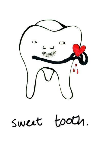 Sweet Tooth--Art Print