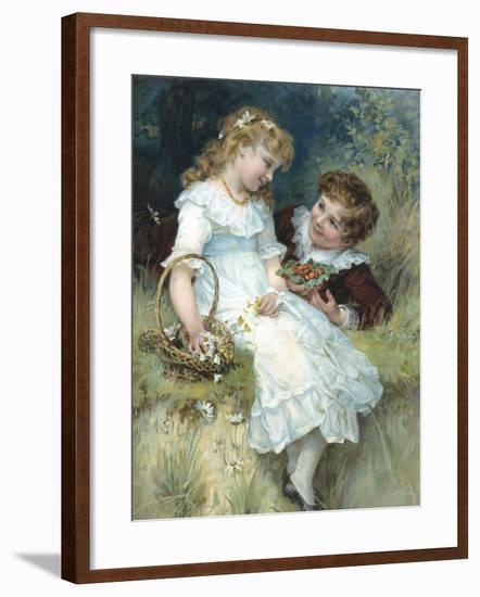 Sweethearts-Frederick Morgan-Framed Giclee Print