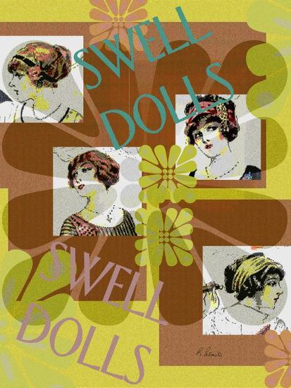 Swell Dolls-Ruth Palmer-Art Print