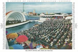 Swift Bridge and Theater, Chicago World Fair