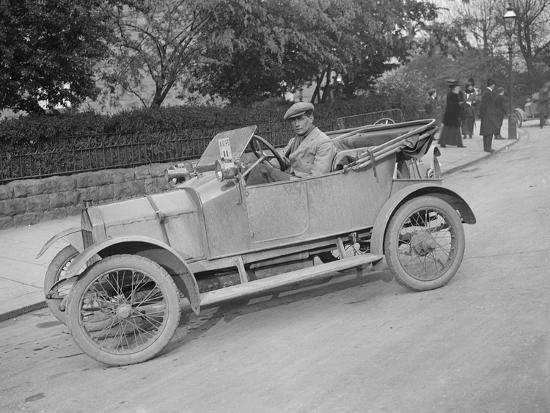 Swift car taking part in a motoring trial, c1920s-Bill Brunell-Photographic Print