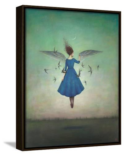 Swift Encounter-Duy Huynh-Framed Canvas Print