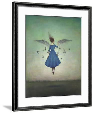 Swift Encounter-Duy Huynh-Framed Art Print