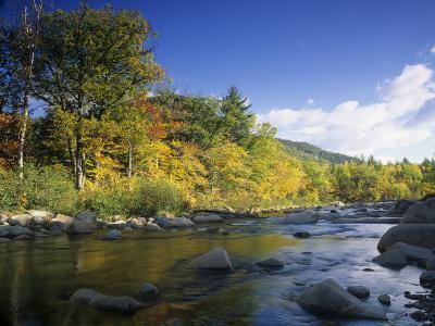 Swift River in the Autumn, White Mountains National Forest, New Hampshire, USA-Adam Jones-Photographic Print