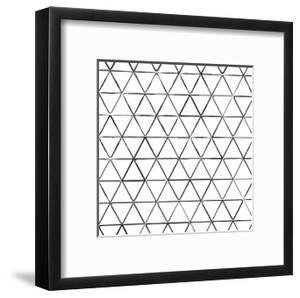 Seamless Pattern With Ink Triangles Drawing by Swill Klitch
