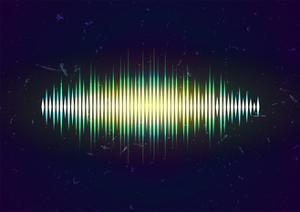 Shiny Sound Waveform by Swill Klitch