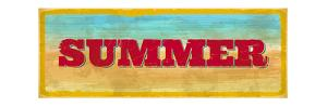 Vintage Summer Sign by Swill Klitch