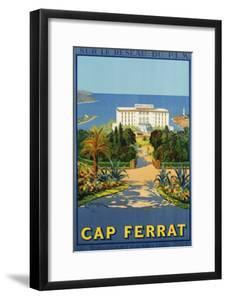 Cap Ferrat Poster by C. Couronneau by swim ink 2 llc