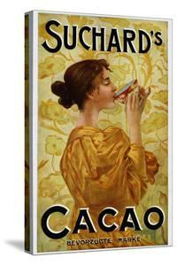 Circa 1905 Belgian Poster for Suchard's Cacao by swim ink 2 llc