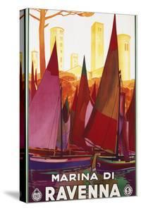 Marina Di Ravenna Poster by swim ink 2 llc