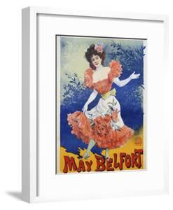May Belfort Poster by Henri Paolo by swim ink 2 llc