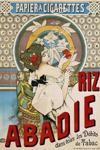 Riz Abadie Poster by H. Gray by swim ink 2 llc