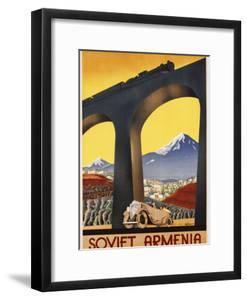 Soviet Armenia Poster by swim ink 2 llc