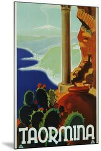 Taormina Poster by swim ink 2 llc