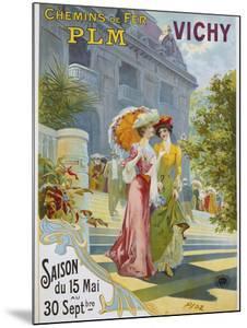 Vichy Poster by Ploz by swim ink 2 llc