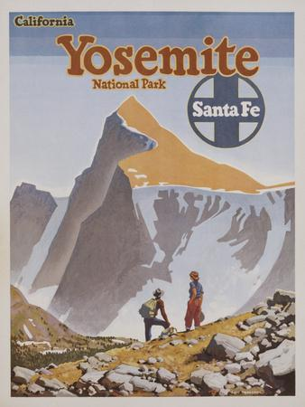 Yosemite National Park Poster by Don Perceval