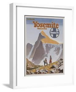Yosemite National Park Poster by Don Perceval by swim ink 2 llc