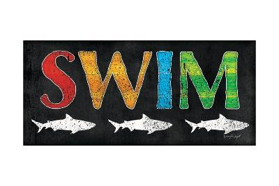 Swim-Jennifer Pugh-Art Print