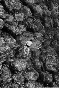 Swimming in the Mediterranean Amalfi Italy