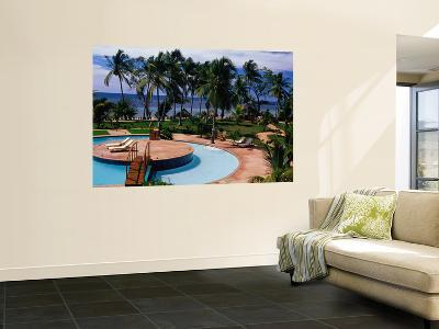 Swimming Pool at Luxury Hotel-Jean-Bernard Carillet-Wall Mural