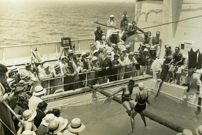 Swimming Pool on Board the Rml 'Atlantis, C1929-C1939--Giclee Print