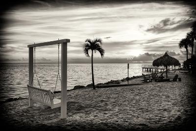 Swing at Sunset-Philippe Hugonnard-Photographic Print