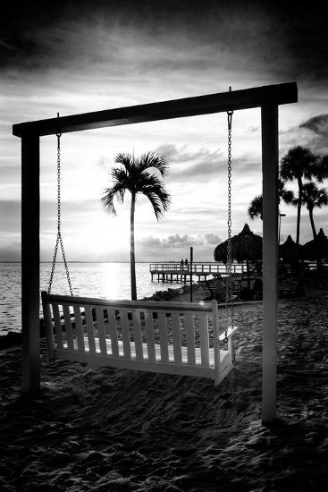 Swing Beach at Sunset-Philippe Hugonnard-Photographic Print