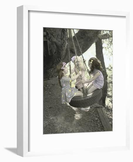 Swing Freely-Gail Goodwin-Framed Premium Giclee Print