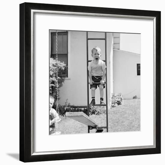 Swing Set Scares-H^ Armstrong Roberts-Framed Photographic Print