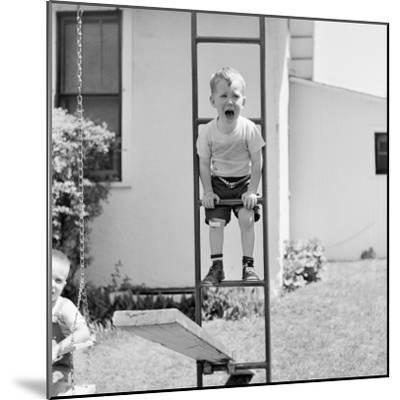 Swing Set Scares-H^ Armstrong Roberts-Mounted Photographic Print