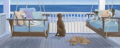 Swing Tails-Carol Saxe-Art Print