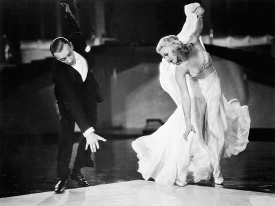 Swing Time Fred Astaire Ginger Rogers 1936 Photo Art Com