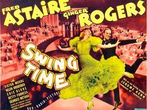 Swing Time, Ginger Rogers, Fred Astaire, 1936