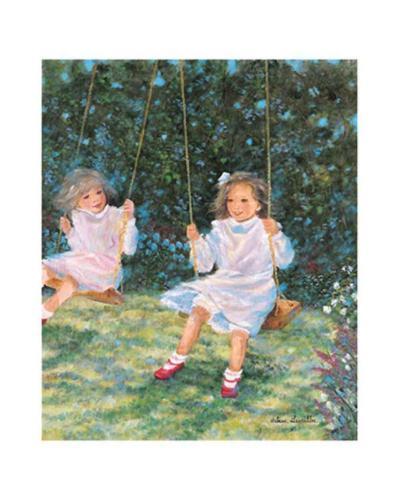 Swinging-H?l?ne L?veill?e-Art Print