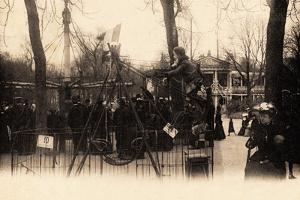 Swings on the Champs Élysées, Paris, 1905