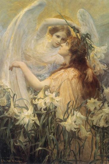 Swinstead, Two Angels--Giclee Print