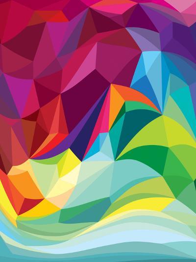 Swirl-Joe Van Wetering-Art Print