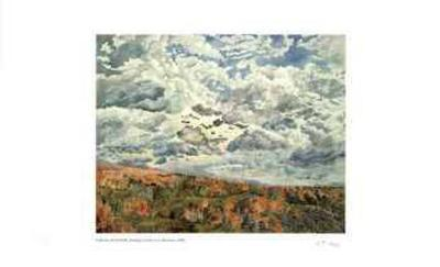 Swirling Clouds Over Albercorn-Catherine Perehudoff-Limited Edition