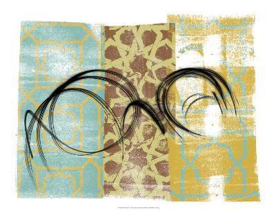 Swirling II-Alonzo Saunders-Art Print
