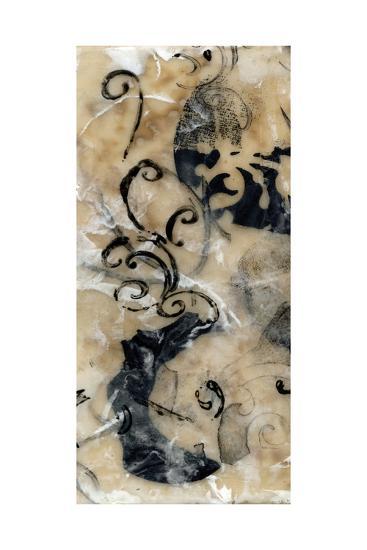 Swirls and Whirls II-Jennifer Goldberger-Art Print