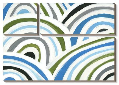 Swirly Bob I-Jodi Fuchs-Canvas Art Set