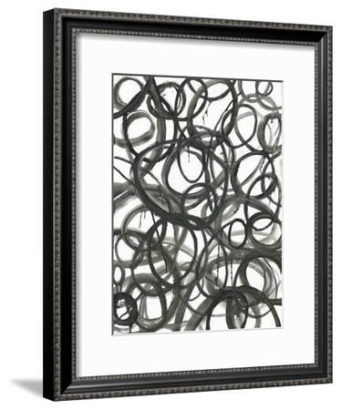 Swirly Curls-Smith Haynes-Framed Art Print