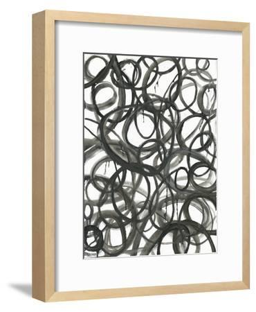 Swirly Curls-Smith Haynes-Framed Art Print
