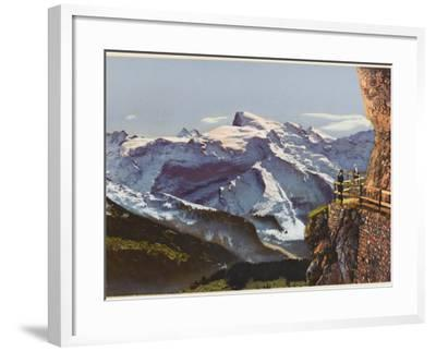 Swiss Alps: on the Stanserhorn--Framed Photographic Print