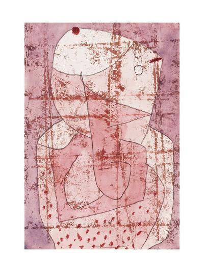 Swiss Clown-Paul Klee-Giclee Print
