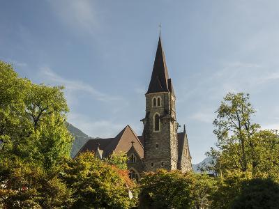 Switzerland, Bern Canton, Interlaken, Catholic Church-Jamie And Judy Wild-Photographic Print